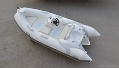 Liya 12.5feet 30hp rib boat rigid inflatable racing boat fast speed boat