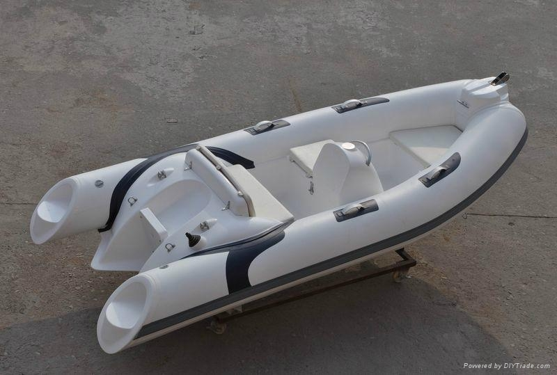 Liya 12 5feet 30hp Rib Boat Rigid Inflatable Racing Boat
