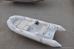 Liya rowing boat rigid hull inflatable boat seaworthy inflatable boat