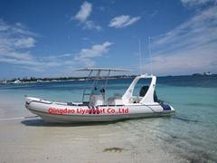 Liya 6.2m/20feet 10 person rigid inflatable boat