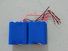 高质量矿灯锂电池3.7V4AH