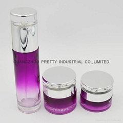 High quality glass Cosmetic bottle