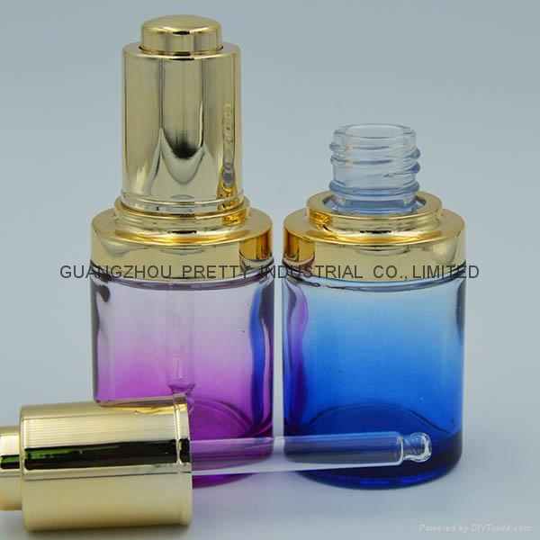 High quality glass Cosmetic bottle cosmetic jar 2