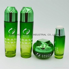 High quality glass Cosmetic bottle cosmetic jar
