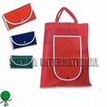 NON WOVEN FOLDED UP BAG