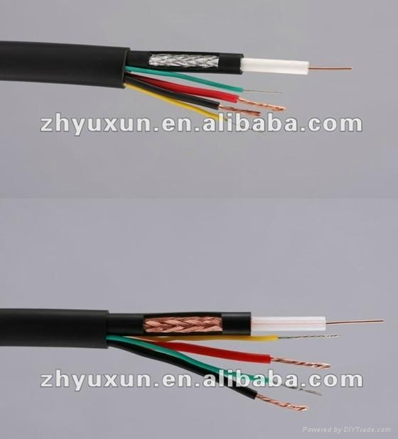 RG59+2 POWER CCTV coaxial CABLE - Yuxun (China Manufacturer ...