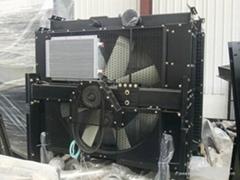 Perkins diesel generator radiator