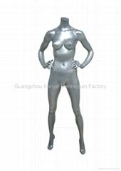 Headless mannequin