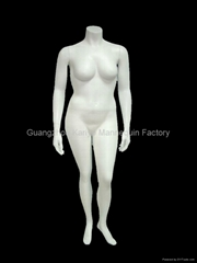 chubbiness female mannequin