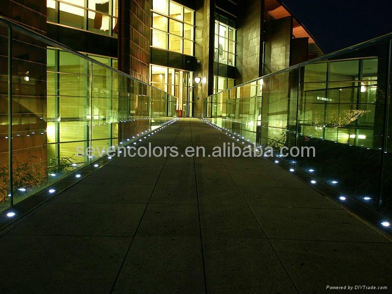 color changing led deck lighting and outdoor floor light
