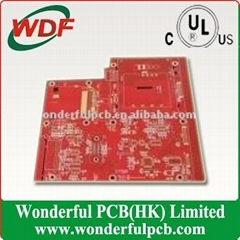 Red TV Circuit Board with 4 Layer