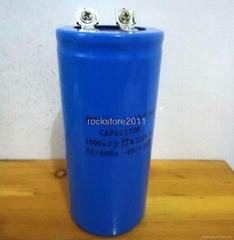 non polarized capacitor CD60 1000uf 220VAC