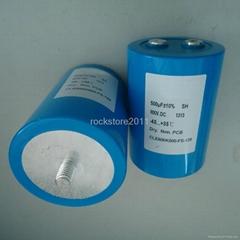 Un Polarized 500UF 800V DC link filter Film Capacitor