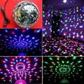 DJ Club Party LED Stage Lighting RGB LED Magic Crystal Ball Dancing Light LB01 1