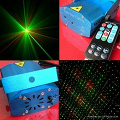 Remote Control Mini Laser Stage DJ Disco Party Xmas Decoration Gift Light RS091