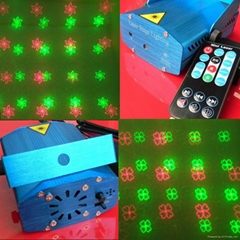 Remote Control Mini Laser DJ Disco Light Festival Party Light RS094D