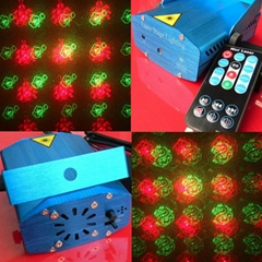 New Design Six in One Remote Control Mini Laser RS096L