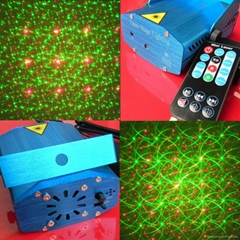 6 Patterns 3D Remote Control Mini Laser Light RS096M