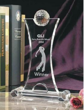 水晶玻璃奖杯 5