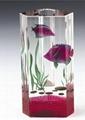 水晶花瓶 2