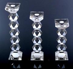 水晶烛台,玻璃烛台