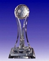 Crystal trophy, crystal awards, crystal crafts 1