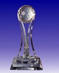 Crystal trophy, crystal