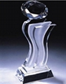 Crystal trophy, crystal awards, crystal crafts 2