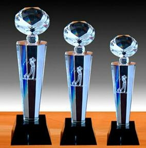 Crystal trophy, crystal awards, crystal crafts 13