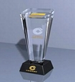 Crystal trophy, crystal awards, crystal crafts 14