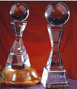Crystal trophy, crystal awards, crystal crafts 20