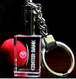 水晶钥匙扣,LED钥匙扣,激光内雕钥匙扣 9