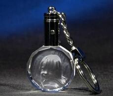 水晶钥匙扣,LED钥匙扣,激光内雕钥匙扣 6