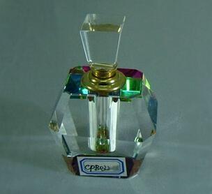 水晶香水瓶,水晶礼品 1