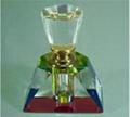水晶香水瓶,水晶礼品 4