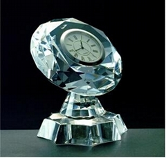 水晶钟表,水晶礼品