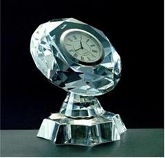 Crystal clock,crystal gifts