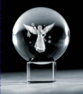 3D激光內雕水晶工藝品,水晶獎牌,水晶方體 6