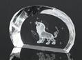 3D激光內雕水晶工藝品,水晶獎牌,水晶方體 9