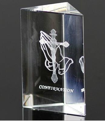 3D激光內雕水晶工藝品,水晶獎牌,水晶方體 14