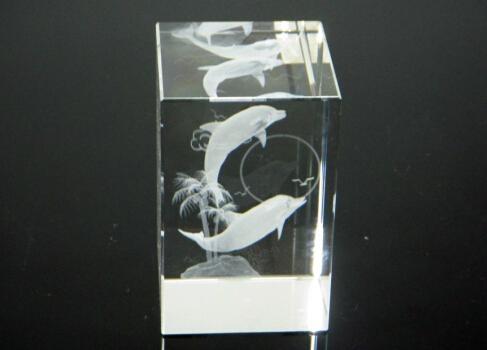 3D激光內雕水晶工藝品,水晶獎牌,水晶方體 19