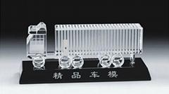 水晶飞机模型,水晶汽车模型,水晶模型