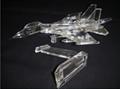 Crystal airplane model,Crystal car model,Crystal model 9