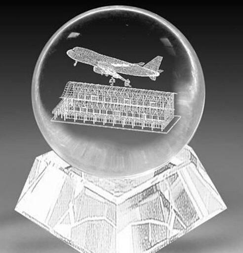 Crystal ball,lighting crystal ball,multi section crystal ball 5