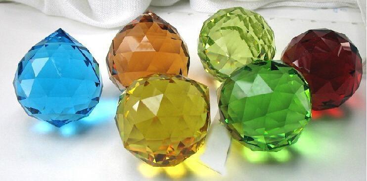 Crystal ball,lighting crystal ball,multi section crystal ball 12