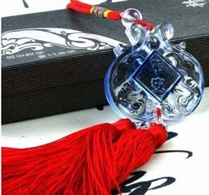 Coloured glaze,lazurite pendants,glass buddha 4