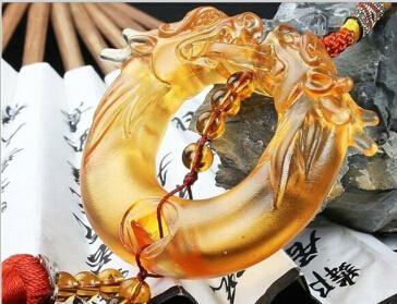 Coloured glaze,lazurite pendants,glass buddha 5