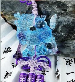 Coloured glaze,lazurite pendants,glass buddha 8