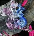 Coloured glaze,lazurite pendants,glass buddha 9