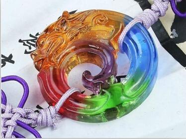 Coloured glaze,lazurite pendants,glass buddha 11